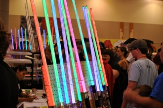 Lightsaber shop.