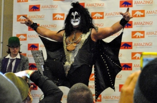Gene Simmons. Also known as Earl.