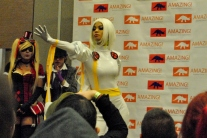 This girl as Storm really got into her role.