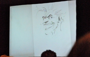 Jim Lee's walk through of the Joker sketch.