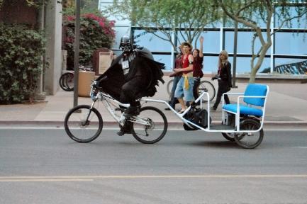Rickshaw Darth Vader