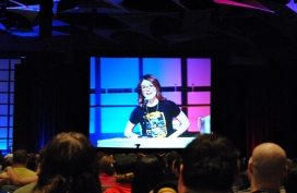 Jewel Staite panel.