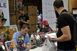 Chuck Soule autographed Death of Wolverine #1-4 and a solo book, Strange Attractors