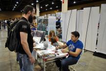 Legendary Adam Kubert autographing Origin II #1